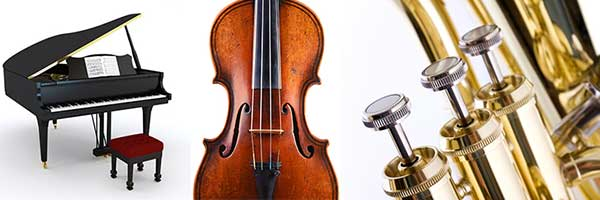 Piano - Violin - Valves